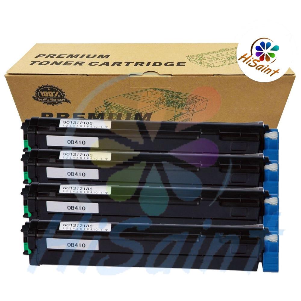 2016New[Hisaint Toner] 4x B410dn Black Toner FOR OKI Okidata 43979101 MB480 B420d MB460 B430dn B420dn Free shipping powder for oki data 700 for okidata b 730 dn for oki b 720 dn for oki data 710 compatible transfer belt powder free shipping