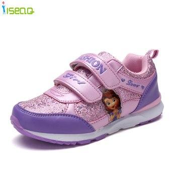f0cc9387 Zapatillas para niñas, zapatos para correr de 4-12 años para niñas, zapatos  de princesa para niños, zapatos deportivos de moda Zapatos transpirables  EUR 26- ...