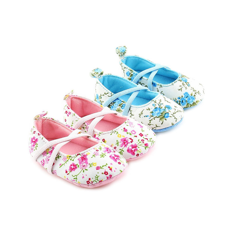 2018 New Flower Baby Girls First Walkers Cute Infant Girl Shoes Toddler Shoes