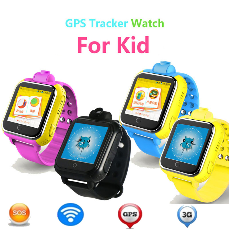 3G baby gps smartwatch with 1.54 inch touch screen kids smart watch support 3g network camera gps tracker tiny phone for kids