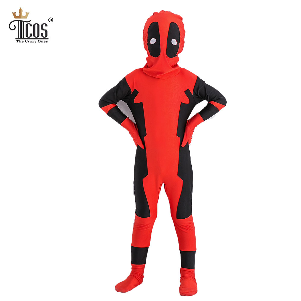 buy kids deadpool costume cosplay. Black Bedroom Furniture Sets. Home Design Ideas