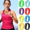 Горячие Продаж Новый B5 Мужская Спортивные Часы Мода Повседневная LED Женщины Цифровой Красный Дисплей Часы Браслет Наручные Часы 12 Цветов