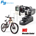 FY WG Wearable Metal Stabilizer Feiyu 3 Axis Brushless Gimbal For Gopro Hot Sale compatible with GoPro hero 3 3+ 4 / Yi cam Aee