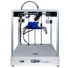 3D принтер 205*205*245 мм Размер поперечная структура полностью металлическая структура Высокая точность мягкая Запатентованная Магнитная Наклейка Ultimaker2 UM2