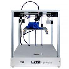 3D принтер 205*205*245 мм Размер поперечная структура полная металлическая структура 3d принтер Высокая точность 3D мягкая Запатентованная Магнитная Наклейка