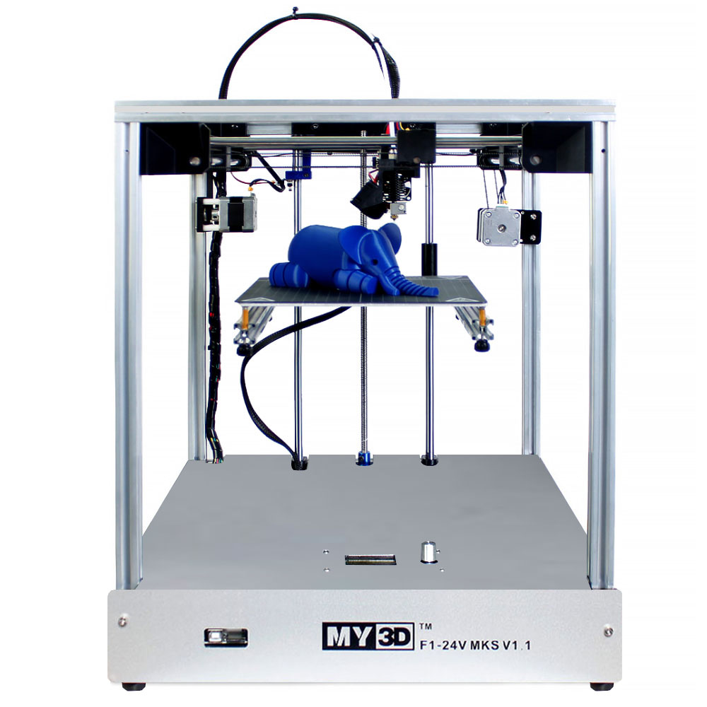 3D stampante 205*205*245 millimetri formato Croce struttura struttura Completamente in metallo di alta precisione Morbido brevettato autoadesivo del magnete ultimaker2 UM2