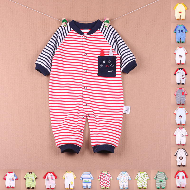 Baby Boys And Girls Clothes Newborn Baby Long Sleeve Autumn/Winter Cotton Rompers autumn newborn baby clothing long sleeve knitting baby clothes cotton line baby rompers girls baby boys clothes