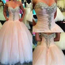 XGGandXRR Amazing 2018 Ball Gown Wedding Dress Sleeveless