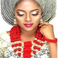 Statement Jewelry Sets Big Balls Red Gold African Nigerian Wedding Beads Jewelry Set 3 Layer Bridal Jewellery Set Free Shipping