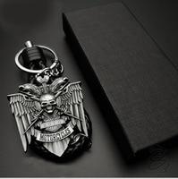 Fashion Motorcycle Metal Key Ring Chain Logo For Harley Motorcycle Street 750 Fat Boy CVO VRSCF