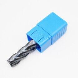 1 sztuk HRC50 14mm z węglika wolframu frez D14X40LXD14X100L 4 flet standardowa długość frezowanie boczne dłutowanie profilowanie twarzy młyn w Frez od Narzędzia na