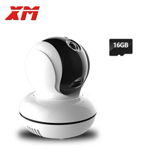 XM 960P 1.3MP HD  IP Camera +16GB SD Card Wifi  P2P Pan/Tilt Two Way Audio Security Home Wireless Robot Camera Indoor Camera