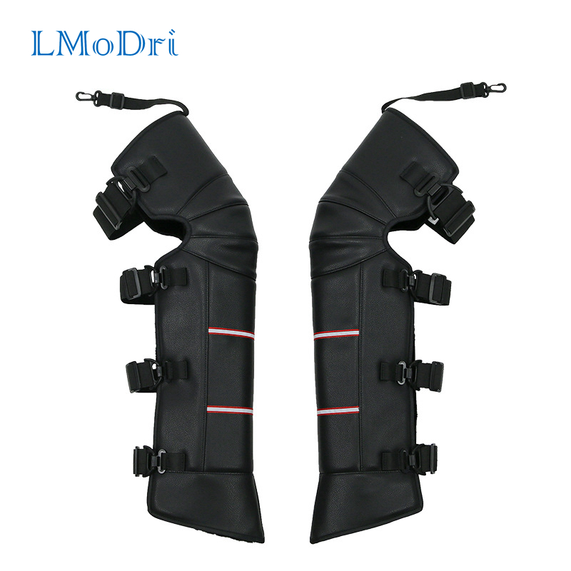 LMoDri Riding Electric Bicycle Warm Kneecap Motorcycle Knee Pads Legs Protective Guard Winter Outdoor Against Wind Waterproof
