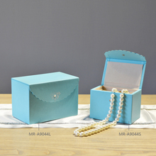 2016 Hot Selling High Quality Modern Lace Leather Jewelry Storage Box  Unique Design Storage Box For