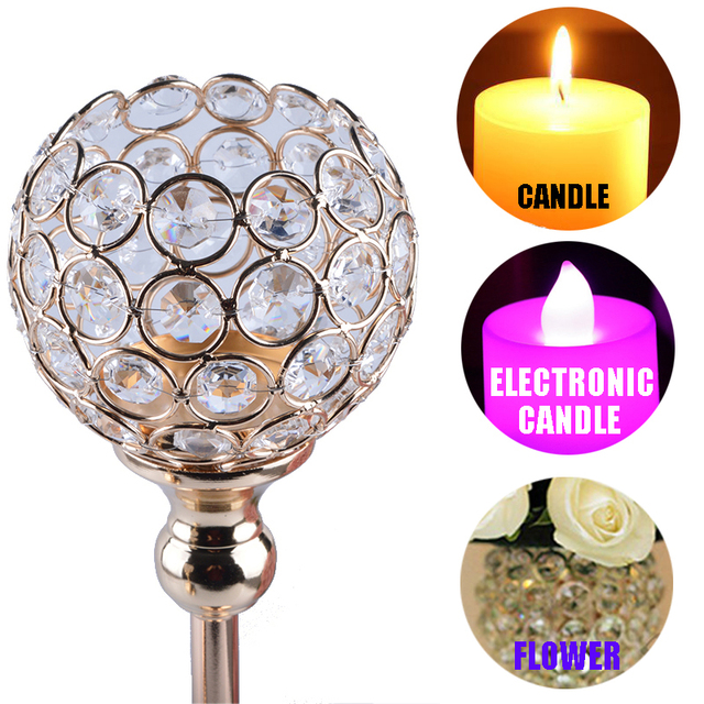K9 Crystal Candle Holders 4