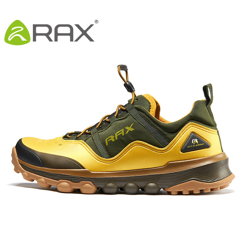RAX Outdoor Breathable Hiking Shoes Men Lightweight Rax Hiking Shoes Walking Trekking Wading Shoes Sport Sneakers Men Botas