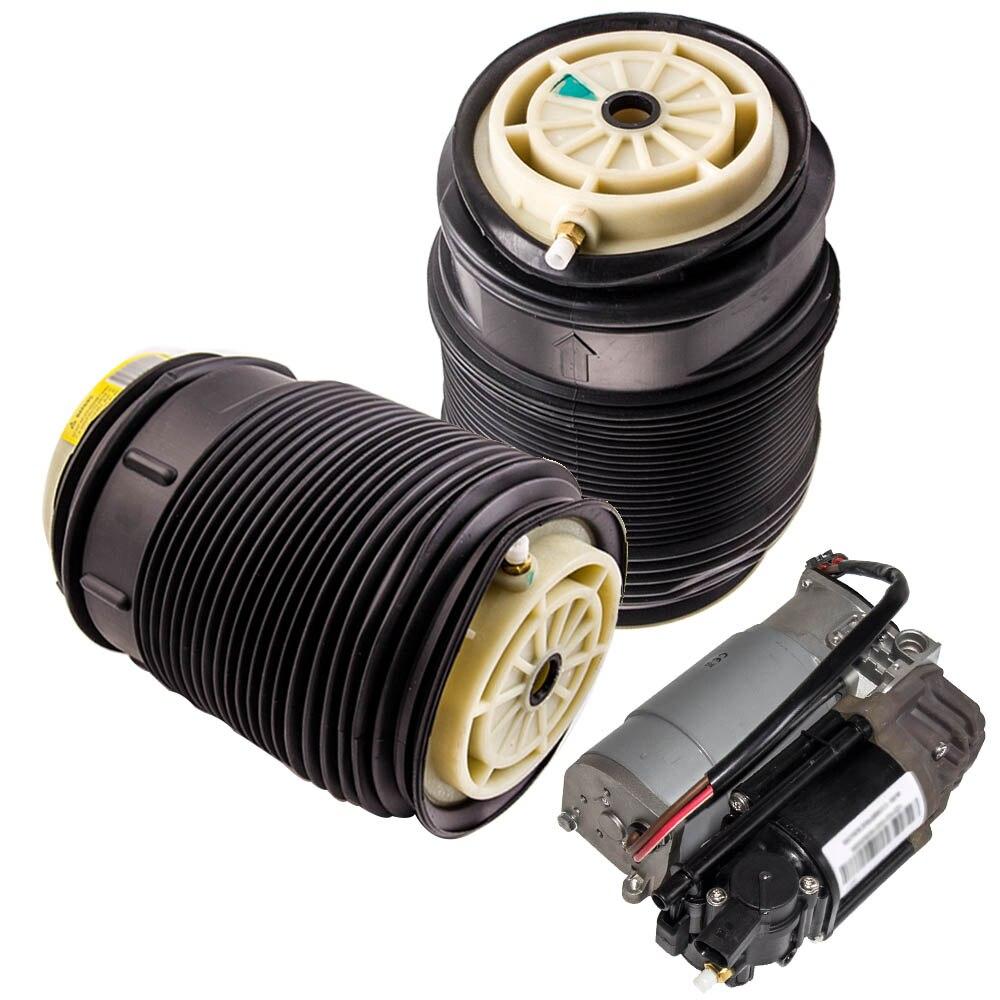 Printemps Air soufflet de suspension Luftfeder pour Mercedes E W212 S212 pompe à Air pour Mercedes CLS Classe C218 X218 A2123200404 A2123200104