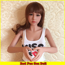 NEW 145cm Top quality japanese silicone love doll, full body sex doll skeleton, oral adult doll with vagina real pussy