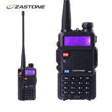 Zastone ZT-V8 Portable CB Walkie Talkie For Hunting Radio Dual Band VHF UHF Handheld Two Way Ham Radio same as Baofeng uv-5r