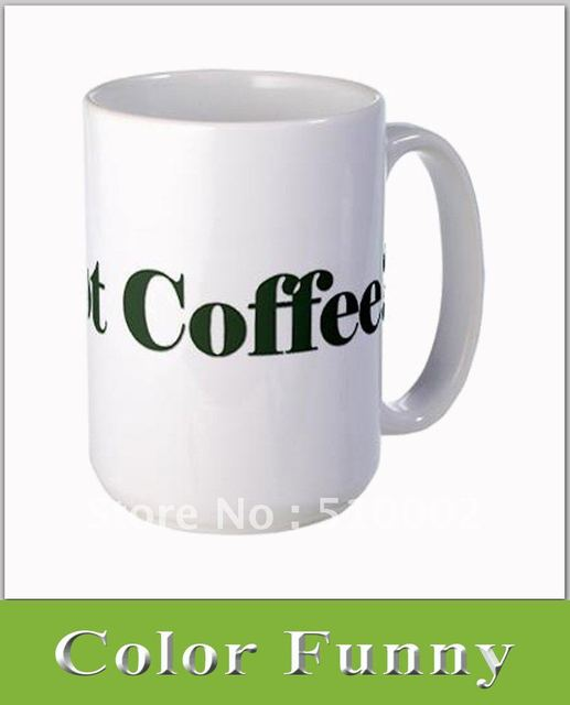 15oz Sublimation White Mug , Huge Coffee Mug , Oversize Coated White Mug , Large Ceramic Cup
