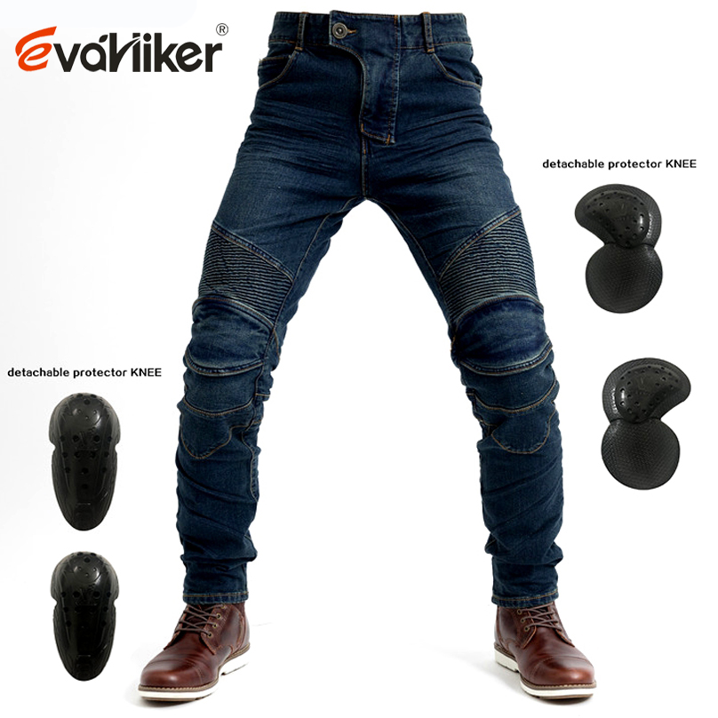 Spring summer breathable Blue motorcycle Jeans Men Moto Jeans Touring Motorbike Trousers Motocross Enduro Pants Moto
