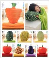 immitation fruit throw pillow pineapple strawberry tomato eggplant pumpkin vegetable cushion pillow soft back cushion