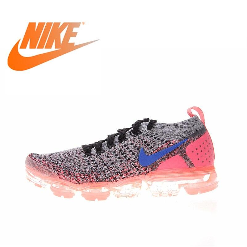 Original authentique NIKE AIR VAPORMAX 2.0 FLYKNIT femmes chaussures de course baskets respirant Sport plein AIR bonne qualité 942843
