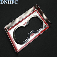 DNHFC The car water cup frame is decorated with sequins for Alfa Romeo Giulia 2015 Up car stying