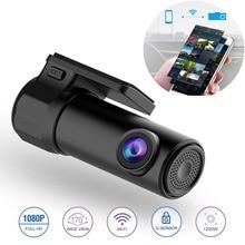 Мини WI-FI Видеорегистраторы для автомобилей Камера цифровой регистратор видео Регистраторы DashCam Авто видеокамеры Беспроводной dvr APP монитора 8868