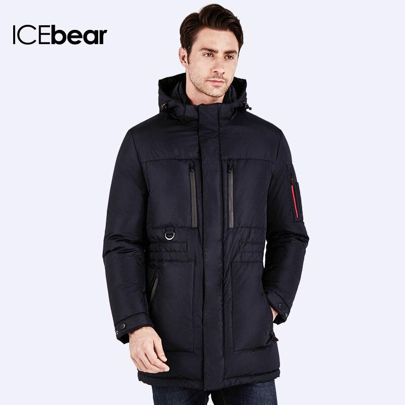19723341a12 ICEbear 2016 Бренд Одежда Куртка Мужской зимний жакет Изветный брент одежды  Куртка стильная модная высокого качества Парка для мужчин 16MD908 купить на  ...