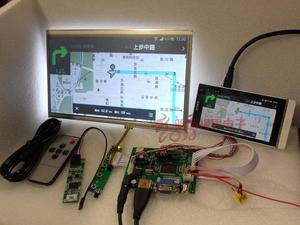 Image 4 - Alle Nieuwe 10 inch 1024*600 Raspberry Pi 3 LCD Touch Screen Kit Backing Auto Monitor Set HDMI VGA USB AV Remote