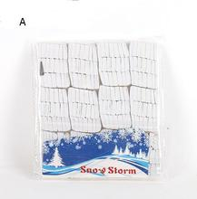 White Snowflakes Paper Snow Storm Magic Trick Halloween Xmas Stage Props YH304