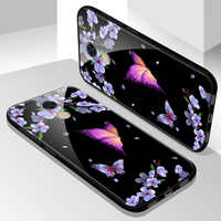 Tempered Glass Case for Huawei Y7 Prime Cover Case with Tempered Glass Screen Protection Film for Huawei Y7 Prime Enjoy 7 Plus