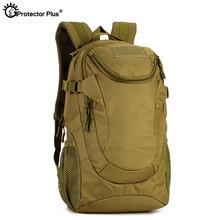 PROTECTOR PLUS 25L Tactical Backpack Military Field Camo Rucksack Ourdoor Camping Fishing 900D Nylon Waterproof Sport Travel Bag
