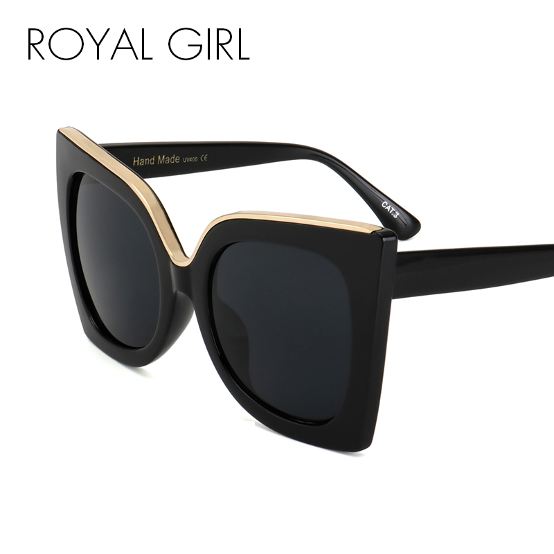 Royal Gadis Perempuan Kacamata Terbaru Vintage Gradient Lens Asetat Frame  Merek Desain Berjemur Kacamata Perempuan Pria Oculos UV400 SS668 di Kacamata  Hitam ... 922dc11a12