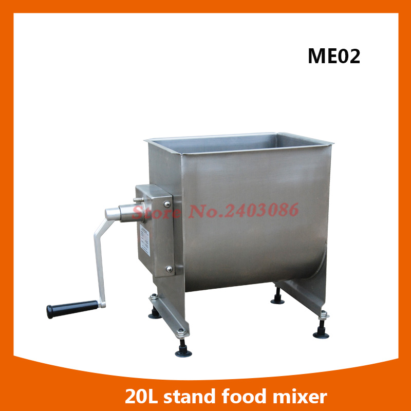 high efficiency food grade 40lbs stainless steel manual food meat mixer for kitchen equipment 1kg bag erythritol food grade 99%