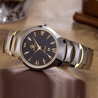 Top Luxury Brand Reginald Watch Tungsten Steel Watches Men Luxury Waterproof Quartz Wristwatch Mens Watches horloges mannen
