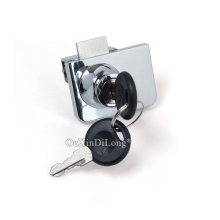 DHL Shipping 50Sets Double Glass Cabinet Lock Jewelry Shopping Mall Showcase Display Door Keys Alike/Keys Different
