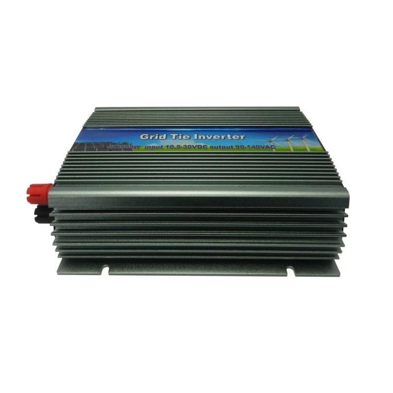 MAYLAR@ 500W  Solar Grid Tie Micro Inverter,10.5-28VDC,180-260VAC,50Hz/60Hz, For Vmp17V Panels maylar 300w wind grid tie inverter for 48v dc wind turbine 22 60vdc 90 260vac 50hz 60hz no need controller and battery