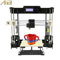 Anet A8 Auto level&Normal 3D Printer 0.4mm Nozzle i3 Aluminium Alloy Hotbed Printer DIY Kit PLA ABS Filament Printer 8G SD Card
