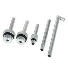 1 zestaw płyn przekładni napełnianie olejem narzędzie DSG CVT napełniacz oleju adapter zestaw dla VAG VW AUDI tanie tanio perfeclan Steel