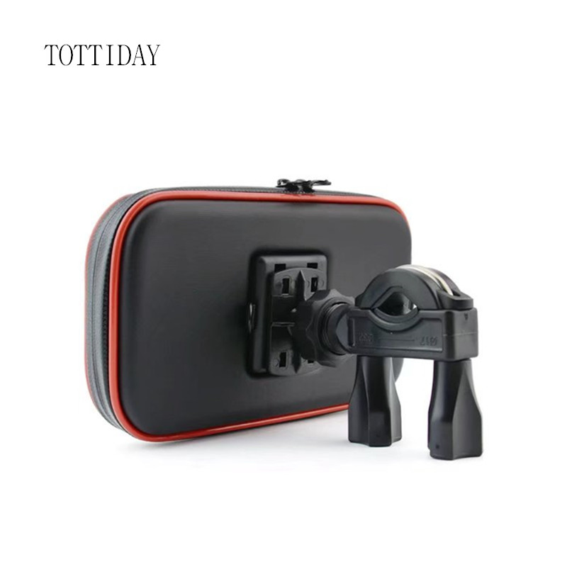 TOTTIDAY Motorcycle Phone Holder Support Mobile Moto