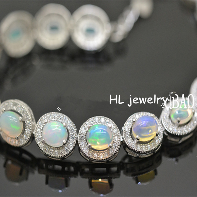 colored price free bracelet shipping gold pin crystal opal stone