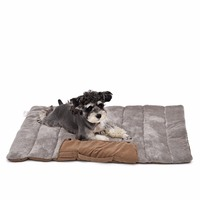 Pet Easy And Convenient To Take Storage Foldable Dogs Pets Mat ForTravel Cat Dog Bed Puppy