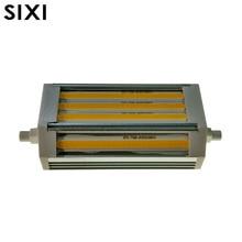 Лампа с регулируемой яркостью COB R7S, 30 Вт, J118, 118 мм, без вентилятора, без шума, заменяемая галогенная лампа 300 Вт, 110 В, 220 В