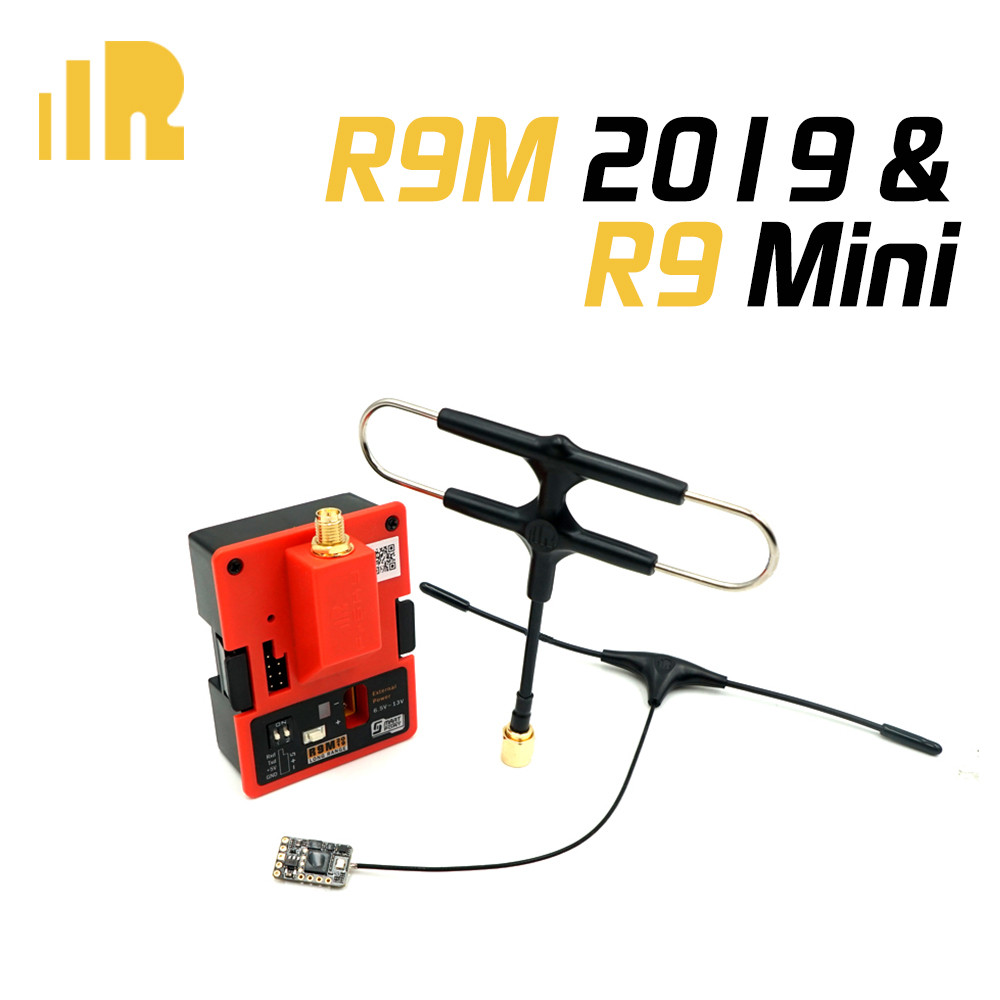 FrSky R9M 2019 وحدة و R9MM R9Mini R9 ضئيلة + استقبال مع شنت سوبر 8 و T هوائي-في قطع غيار وملحقات من الألعاب والهوايات على  مجموعة 2