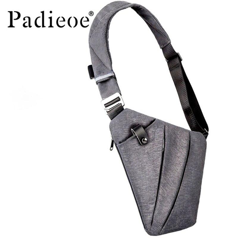 Compact Single Shoulder Waterproof Nylon Crossbody Bags Male Messenger Bag Designer Waist