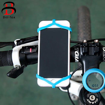 Silicone Bike Phone Holder Band for Smartphone Handlebar Mount Motorcycle Phone Holder For iPhone for Samsung GPS Easy Install Мотоцикл
