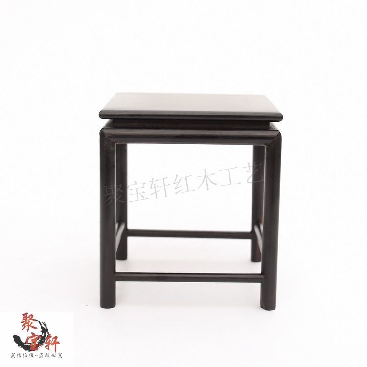 Ebony sculpture household act the role ofing is tasted the vase flowerpot aquarium handicraft furnishing articles mahogany base red wood elliptical solid wood household act the role ofing is tasted vase of buddha planter base handicraft furnishing articles