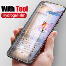5D Volledige Beschermende Zachte Hydrogel Film Voor Samsung Galaxy S9 S8 Plus Note 8 9 Cover Screen Protector Film S6 s7 Rand Niet Glas
